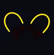 Svítící čelenka s ušima ee636749078